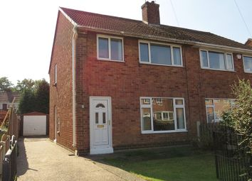 Thumbnail 3 bedroom semi-detached house for sale in White Road, Staveley, Chesterfield