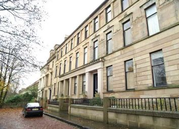 Thumbnail 1 bed flat to rent in Hamilton Drive, Glasgow