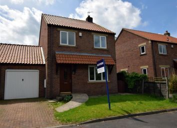 Thumbnail 3 bed link-detached house to rent in Sycamore Grove, Sherburn, Malton