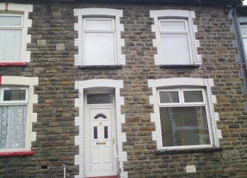 Thumbnail 3 bed terraced house for sale in Ynyscynon Road, Trealaw, Rhondda Cynon Taff.