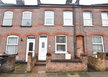 Thumbnail 2 bed terraced house for sale in St. Peters Road, Luton