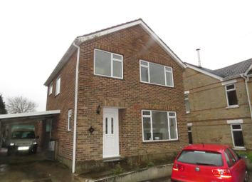 Thumbnail 4 bed detached house to rent in Curtis Road, Parkstone, Poole