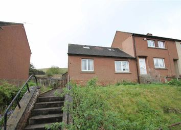Thumbnail 1 bed semi-detached house for sale in Coronation Drive, Crawford, Lanarkshire