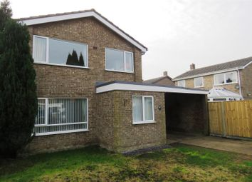 Thumbnail 4 bedroom detached house for sale in River Close, Benwick, March