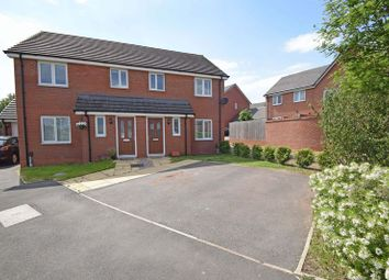 Thumbnail 3 bed semi-detached house for sale in Almondsbury Close, Redditch