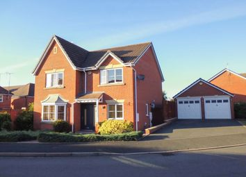 Thumbnail 4 bed detached house for sale in Brecon Avenue, Worcester