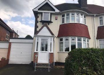 Thumbnail 3 bed semi-detached house for sale in Hagley Road West, Quinton, Birmingham, West Midlands