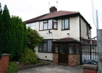 Thumbnail 4 bed semi-detached house to rent in Newry Park, Chester