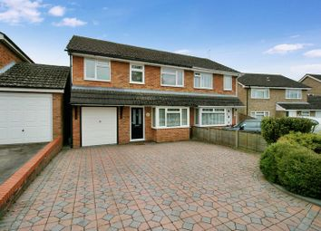 Thumbnail 4 bed semi-detached house for sale in Noyce Drive, Fair Oak, Eastleigh