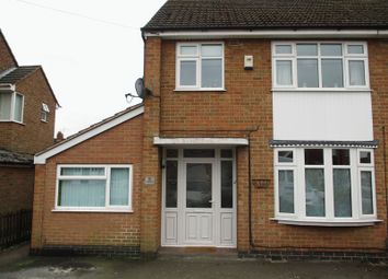 Thumbnail 3 bed semi-detached house for sale in Sunnyside, Hinckley