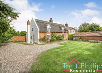 Thumbnail 5 bedroom cottage for sale in Church Road, Sea Palling, Norwich
