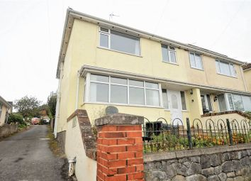 Thumbnail 3 bed semi-detached house for sale in Gillmore Road, Milton, Weston-Super-Mare