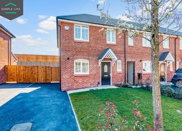 Thumbnail 3 bed terraced house to rent in Richard Darroch Way, Crewe