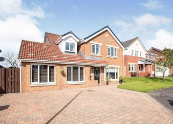 Thumbnail 5 bed detached house for sale in Ratho Drive, Glasgow