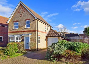 Thumbnail 3 bed detached house for sale in Bramley Way, Kings Hill, West Malling, Kent