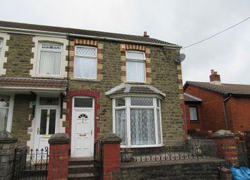 Thumbnail 3 bed semi-detached house for sale in Station Terrace, Maesteg, Bridgend.