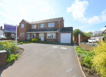 Thumbnail 3 bed semi-detached house for sale in Cross Butts, Eccleshall, Stafford