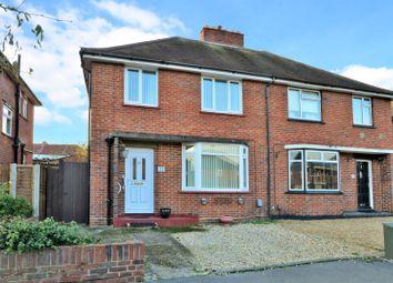 Thumbnail 3 bed semi-detached house for sale in Friend Avenue, Aldershot, Hampshire