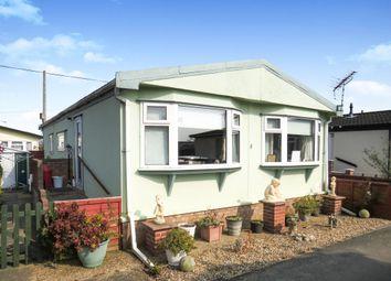 Thumbnail 2 bedroom mobile/park home for sale in Beach Farm Caravan Park, Arbor Lane, Lowestoft