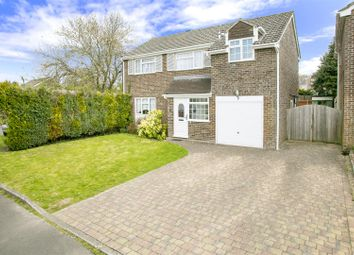 Thumbnail 4 bed detached house for sale in Gannet Close, Basingstoke