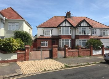 Thumbnail 4 bed semi-detached house for sale in Amesbury Crescent, Hove