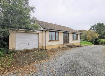 Thumbnail 2 bed detached bungalow for sale in The Lodge And Building Plot, Sladeway, Fishguard