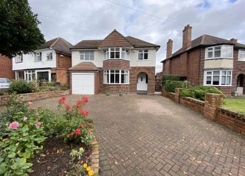 Thumbnail 4 bed detached house for sale in Vicarage Lane, Water Orton, Birmingham