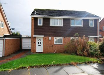3 bed semi-detached house for sale in Heron Close, South Beach Estate, Blyth NE24