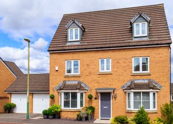 Thumbnail 5 bed detached house for sale in Knights Walk, Caerphilly