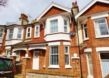 Thumbnail 3 bed terraced house for sale in Greys Road, Eastbourne