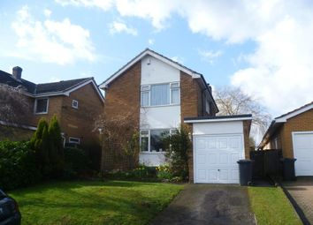 Thumbnail 3 bed detached house to rent in Hillside, Lichfield, Staffordshire