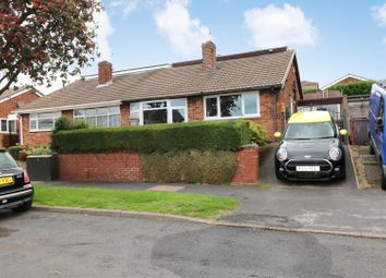 Thumbnail 3 bed semi-detached bungalow for sale in Caton Crescent, Milton, Stoke-On-Trent