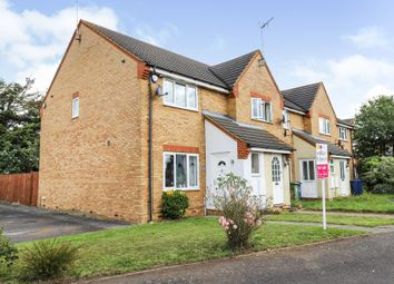 Thumbnail 3 bed end terrace house for sale in Swanton Close, March