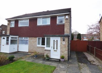 Thumbnail 3 bed semi-detached house for sale in Burleigh Close, Hazel Grove, Stockport