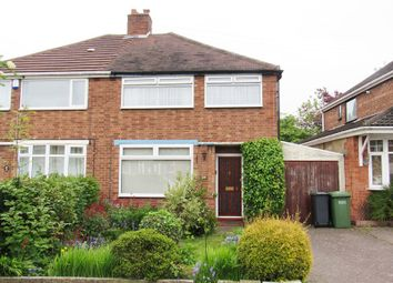 Thumbnail 3 bed semi-detached house for sale in Ventnor Road, Solihull