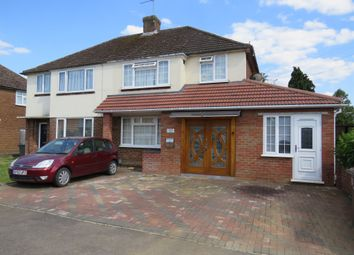 Thumbnail 5 bed semi-detached house for sale in The Crossway, Luton