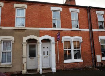 Thumbnail 2 bed terraced house for sale in Abbey Road, Northampton