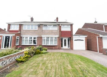 Thumbnail 3 bed semi-detached house for sale in Westerdale Road, Hartlepool
