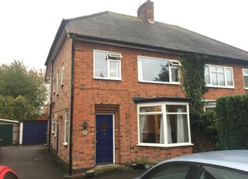 Thumbnail 3 bed semi-detached house to rent in Forest Road, Loughborough