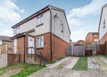 Thumbnail 2 bed semi-detached house for sale in Burmarsh Close, Walderslade, Chatham