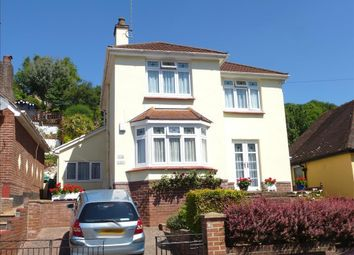 Thumbnail 4 bed detached house for sale in Shorton Valley Road, Paignton