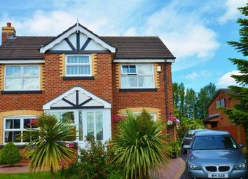 Thumbnail 4 bed detached house for sale in Walkers Drive, Leigh, Greater Manchester