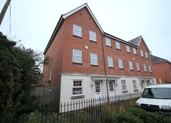 Thumbnail 4 bed town house for sale in Fletcher Way, Weston Road, Norwich