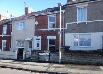 Thumbnail 2 bed terraced house to rent in Deacon Street, Swindon, Wiltshire