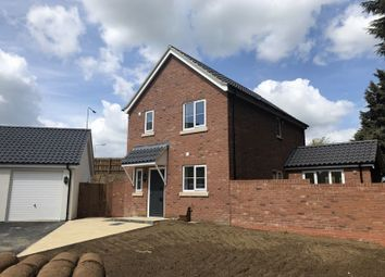 Thumbnail 3 bed detached house for sale in Tuns Road, Necton, Swaffham