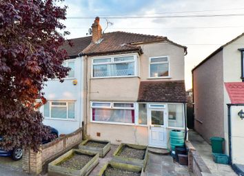 Thumbnail 3 bed end terrace house for sale in Warminster Way, Mitcham, Surrey
