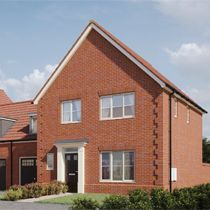 Thumbnail 1 bedroom link-detached house for sale in Buzzard Way, Holt