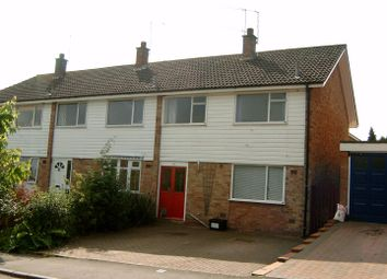 Thumbnail 3 bed property to rent in Castle Road, Studley, Warks.