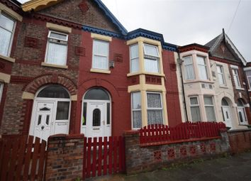 Thumbnail 4 bed terraced house for sale in Littledale Road, Wallasey