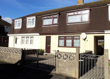 Thumbnail 3 bed semi-detached house to rent in Heol Llan, North Cornelly